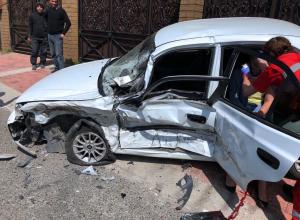 В Сочи в аварии пострадал ребенок из-за отсутствия детского кресла