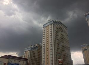 На Кубани из-за ливней и града объявили экстренное предупреждение