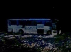 Пассажирский автобус из Ейска перевернулся на Ставрополье