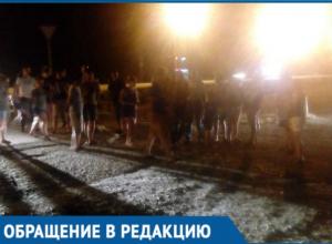 Жители Краснодара обезумели от жары после 4 дней без света