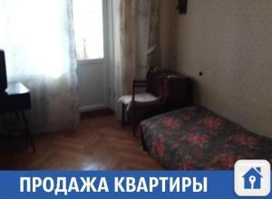Продается квартира в замечательном кирпичном и теплом доме
