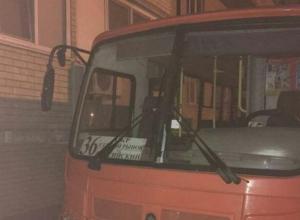 Взрывоопасные автобусы под окнами пугают жителей Краснодара