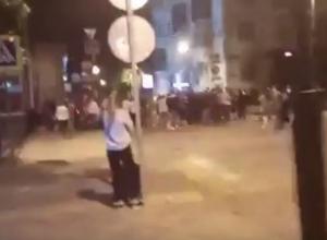 «Обезумевшая толпа» переполошила Краснодар шумной лезгинкой в полночь