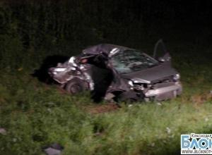 В аварии под Усть-Лабинском погибли три человека