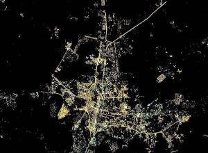 Космонавт Рязанский опубликовал снимок Краснодара, сделанный с борта МКС