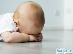 Житель Каневского района издевался над пятимесячным малышом