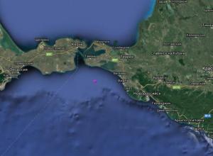 У берегов Анапы в Черном море произошло два землетрясения