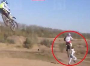 Опубликована видеозапись смертельного мотозаезда на соревнованиях в Краснодарском крае