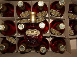 Краснодарец украл со склада ящик виски и увез его домой на такси