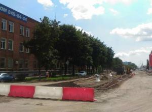 Эксперты шокированы после проверки ремонта улицы Новороссийской в Краснодаре