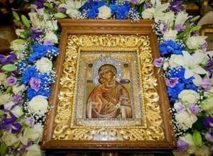 В Краснодарский край прибудет Федоровская икона Божьей Матери