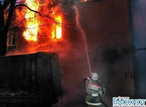В Кущевском районе мужчина погиб при пожаре