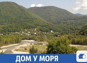 Домик с видом на горы и море продают в Краснодарском крае