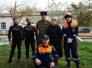 За ЧС на Кубани будут следить 424 группы казаков немедленного реагирования