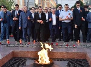 В акции «Свеча памяти» в Краснодаре приняли участие более 14 тысяч человек