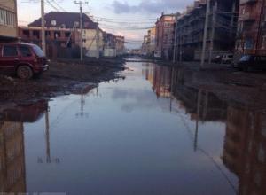 Власти Краснодара пообещали привести в порядок дорогу в поселке Российском