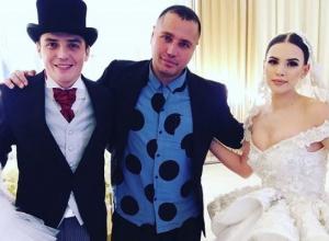 Экс-участник «Дома-2» новороссиец Евгений Кузин закатил «свадьбу на миллион»