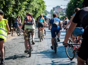 Краснодар стал столицей велосипедистов