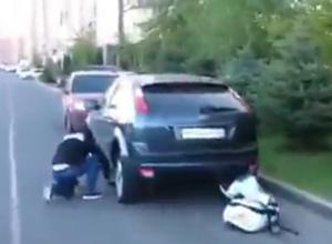 В Краснодаре появился «народный мститель», прокалывающий колеса