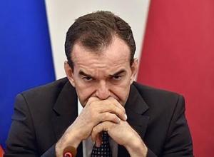 «Подкосились ноги» : мэр Краснодара чуть не упал во время критики от губернатора Кубани