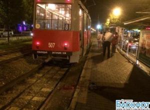 В Краснодаре женщина попала под колеса трамвая