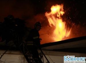 В Сочи горел жилой дом