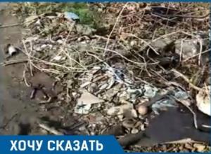 «Ни тротуара, ни освещения», - житель Краснодара о состоянии улицы Воронежской