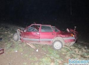 В Динском районе в аварии погибли двое мужчин