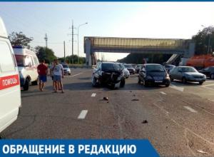 Пьяный водитель протаранил машину под Краснодаром, а потом сказал, что это не он