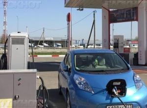 Сто отечественных зарядных станций для электромобилей появится в Краснодарском крае