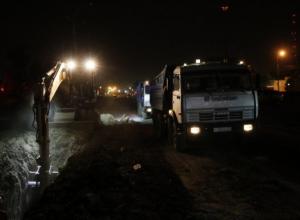 Мэр Краснодара ночью проверил ремонт на Новороссийской