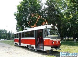 В краевом центре временно изменят движение трамвайного маршрута