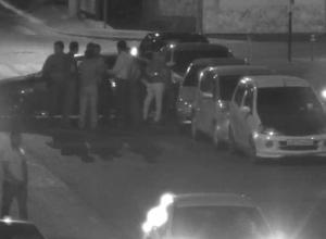 Массовое ДТП на Театральной площади в Краснодаре попало на видео