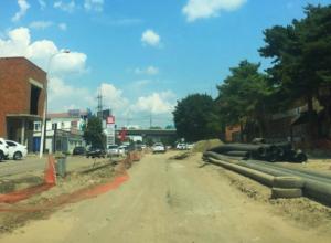 Власти Краснодара назвали причину приостановки капремонта улицы Новороссийской