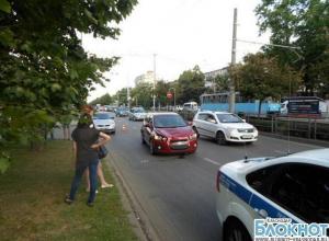 В столице Кубани девушка сбила мальчика