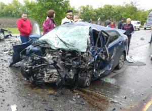 В жуткой аварии в Успенском районе разбились три человека