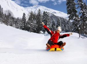 «Перестрелку» снежками и гонки на санках устроят в Сочи в День снега