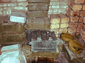Схрон с боеприпасами нашли в Новороссийске