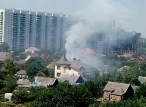 В Пашковском районе Краснодара сгорела баня