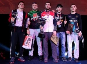 В Краснодаре определили победителей Кубка России по ММА 2017 года