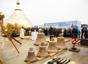 Ставропольский храм в честь равноапостольного князя Владимира в «Перспективном» озаглавился золотыми куполами