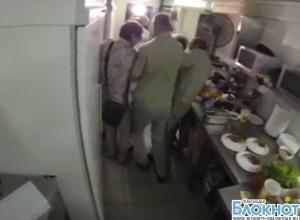 В сети Интернет появилось видео нападения  на съемочную группу телеканала «Пятница»  в Анапе