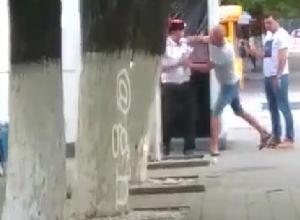 Пьяный кубанец на спор напал на полицейский «стаканчик»