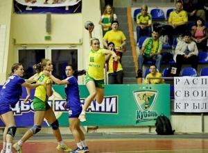 Гандболистки «Кубани» обыграли в домашнем матче чемпионата России «Динамо-Синару»