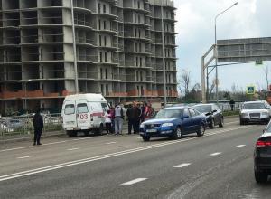 Источник: Сбитая в Краснодаре школьница избежала комы