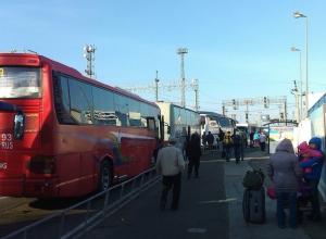 В порту «Крым» из-за сильного ветра приостановлена работа паромов