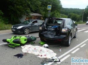 На трассе «М-4 Дон» погиб мотоциклист