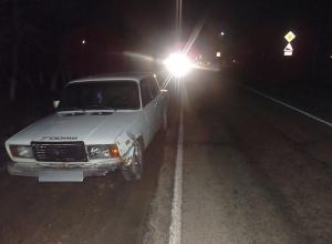 Водитель, сбивший пешехода в Гулькевичском районе, сам оказался под колесами машины