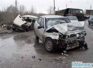 В станице Отрадной в ДТП пострадала женщина
