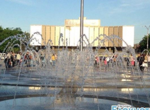 В Краснодаре открыли сезон фонтанов